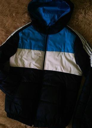 Женская спортивная зимняя куртка adidas1 фото