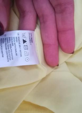 Яркое жёлтое платье от h&m5