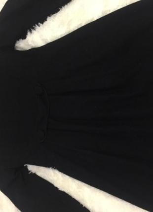 Пальто женское чёрное2