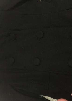 Пальто женское чёрное3