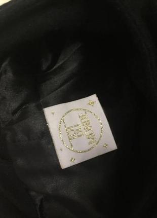 Пальто женское чёрное4