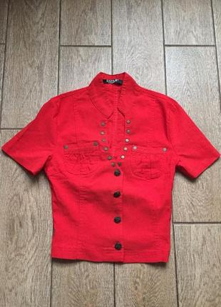 Укороченная блуза1