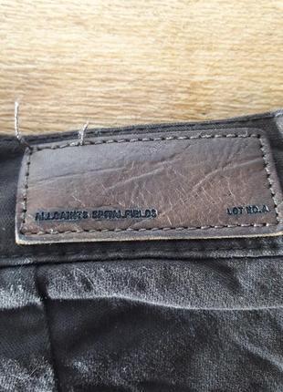 Allsaints короткие джинсовые шорты5