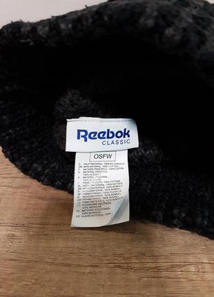 Женская шапка reebok classic3