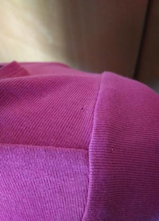 🌷 базовая сочная розовая футболка кофта трикотаж коттон р 18 / 52-54 m&s4
