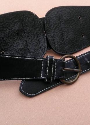 Пояс- корсет с декоративной застежкой2