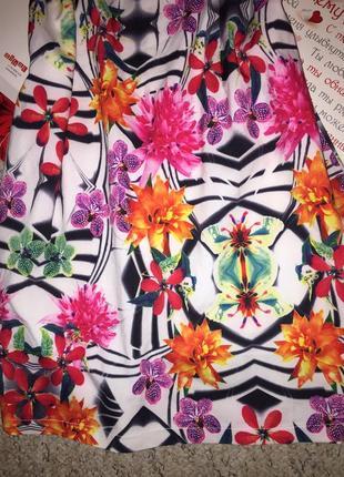 Цветочное платье от belle3