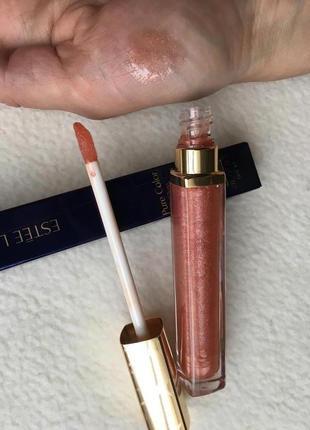Нюдовый блеск для губ estee lauder pure color gloss 253