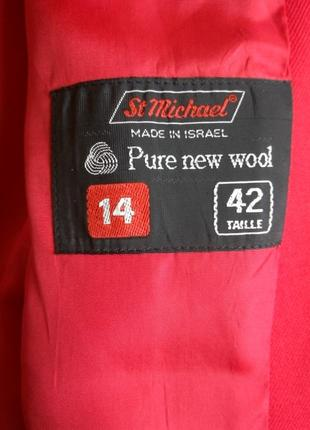 Красный пиджак,  жакет st michael2 фото