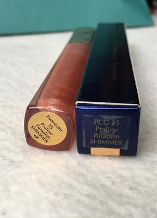 Нюдовый блеск для губ estee lauder pure color gloss 254