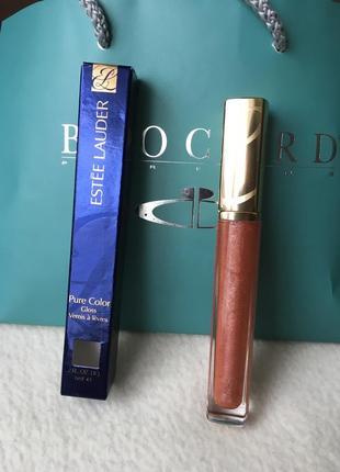 Нюдовый блеск для губ estee lauder pure color gloss 255