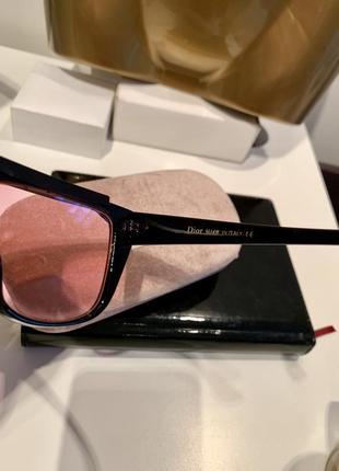 Полупрозрачные очки с козырьком подиумная модель jadior4 фото
