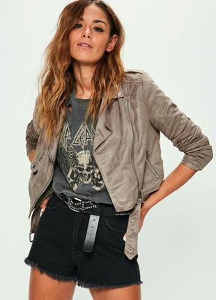 Куртка косуха missguided4 фото