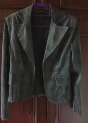 Пиджак велюровый1