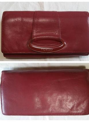 Кожаный кошелек fiorelli (кожа натуральная)1