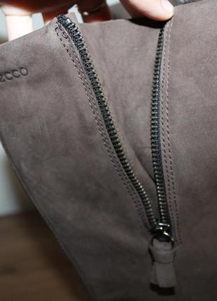 Кожаные сапоги с мембраной gore-tex ecco, 38 размер2 фото