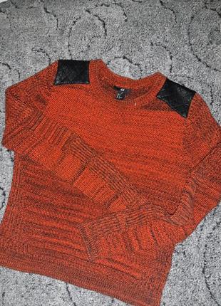 Крутой вязаный свитер h&m3 фото
