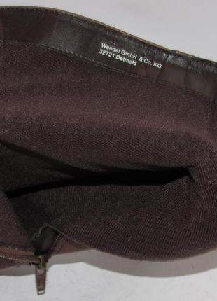 Tamaris германия кожа качественные стильные женские сапоги 37р ст.23,5см m295