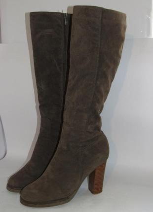 Claudia chizzani высокие женские сапоги германия 40р ст.25см m29