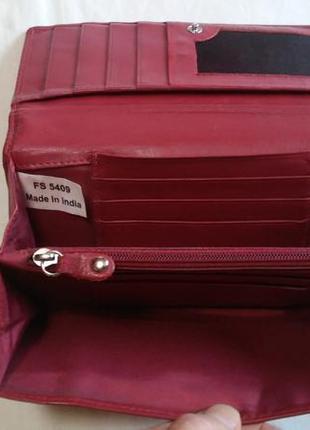 Кожаный кошелек fiorelli (кожа натуральная)3