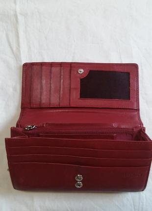 Кожаный кошелек fiorelli (кожа натуральная)4