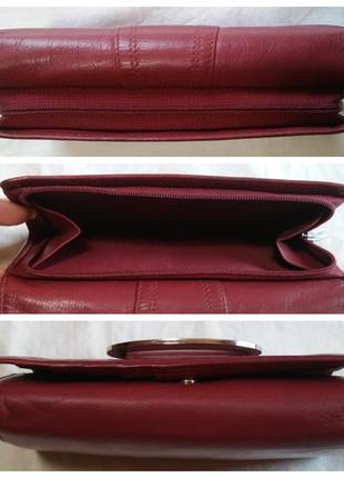 Кожаный кошелек fiorelli (кожа натуральная)5