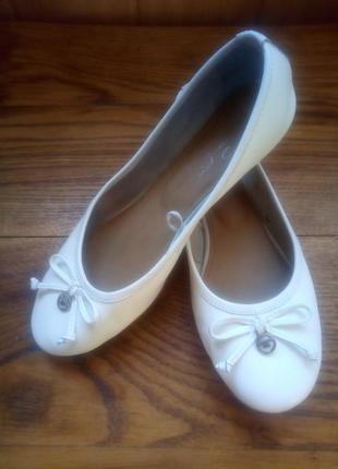 Кожаные балетки tom tailor1