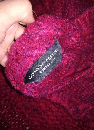 Крутейший свитер красного цвета2