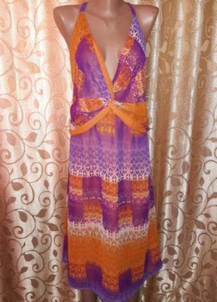 Красивое легкое женское платье, сарафан батального размера marks & spencer3