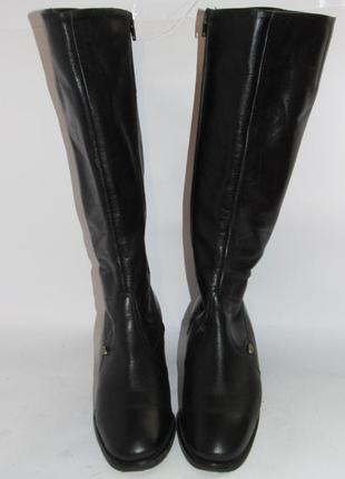 Jany be ara германия кожаные высокие женские сапоги 36р ст.23см m293 фото