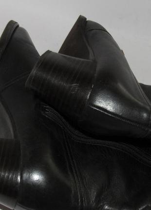 Jany be ara германия кожаные высокие женские сапоги 36р ст.23см m292 фото