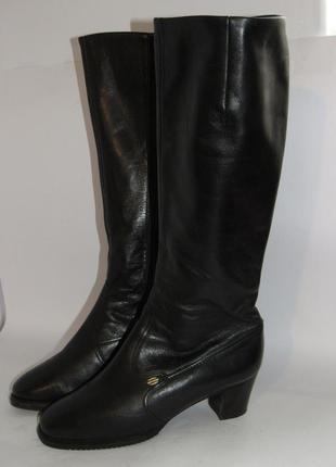 Jany be ara германия кожаные высокие женские сапоги 36р ст.23см m291 фото