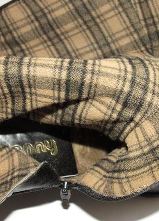 Jany be ara германия кожаные высокие женские сапоги 36р ст.23см m295 фото