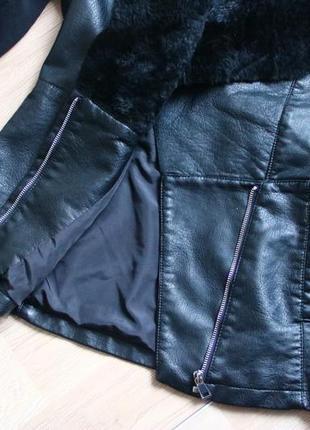 Новая демисезонная куртка косуха new new look4
