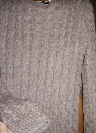 Теплое платье миди3