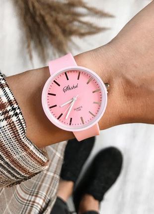 Силиконовые часы1 фото