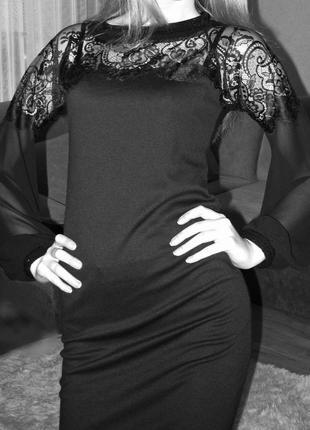 Платье с гипюром3