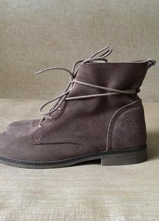 Замшевые ботинки, сапоги peckott, 39-40 р. стан ідеал2