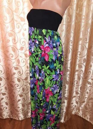 Красивое длинное женское платье, сарафан f&f4
