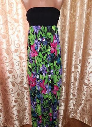 Красивое длинное женское платье, сарафан f&f2