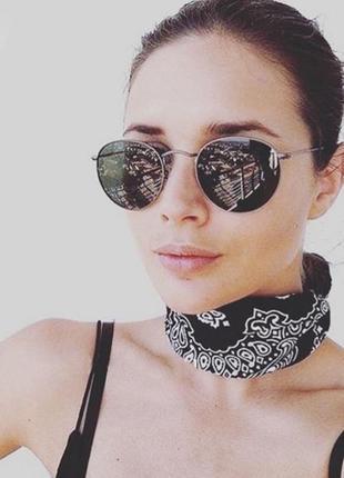 Скидка!новые, стильные, трендовые,модные,солнцезащитные очки,ретро,зеркальные,мода 20191 фото