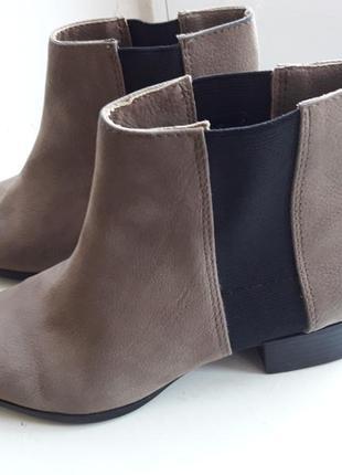 Челси h&m нубук, ботинки, ботильоны, бренд2 фото