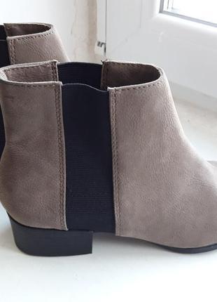 Челси h&m нубук, ботинки, ботильоны, бренд4 фото