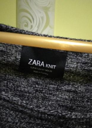 Кофточка с карманами свободный кроя от zara2 фото