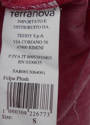 Укороченный винтажный свитшот оверсайз с надписью с принтом с длинным рукавом3 фото