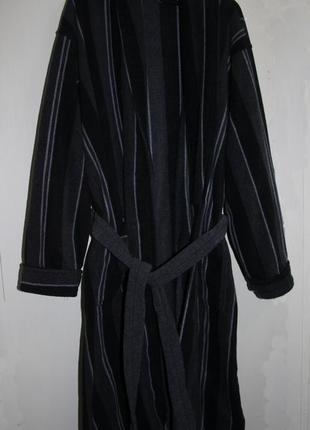 Очень-очень теплый фирменный халат под пояс primark, р.52
