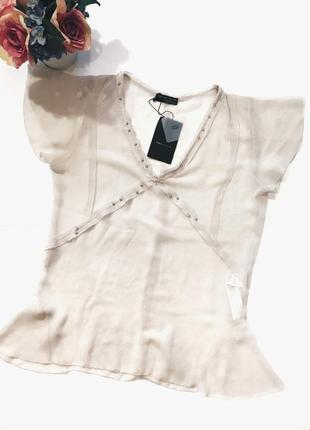 Шикарная новая блуза(блузка) м-л размер zara1
