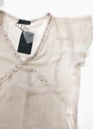 Шикарная новая блуза(блузка) м-л размер zara3