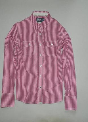 Стильная брендовая яркая рубашка от soulcal&co
