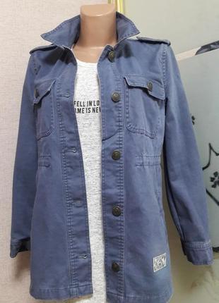 Стильная куртка парка) пог 46